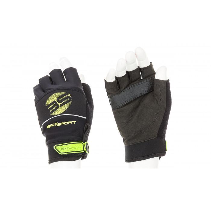Мъжки ръкавици за велосипед GLM-650-XL Green