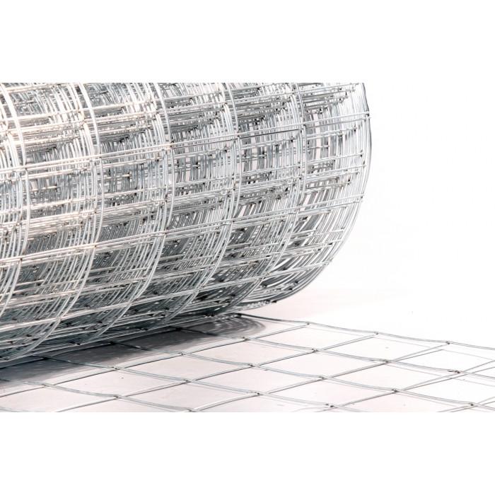 Електрозаварена оградна мрежа Н1750 / 25м / 1,6мм / 55х75 мм Ths Thermostyle