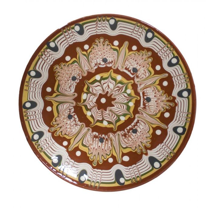 Чиния троянска керамика 17cm