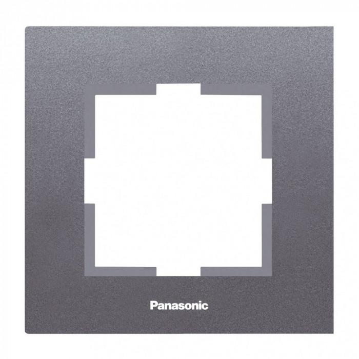 Единична рамка тъмносив Panasonic  Каре Плюс