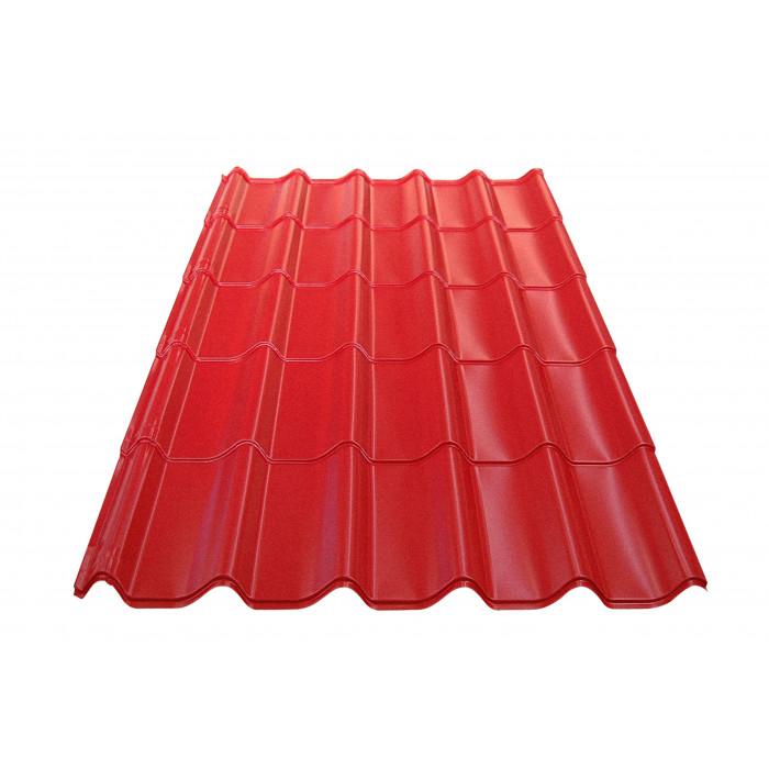 Метален покрив Eco 0.4mm / 0.74m керемиден цвят