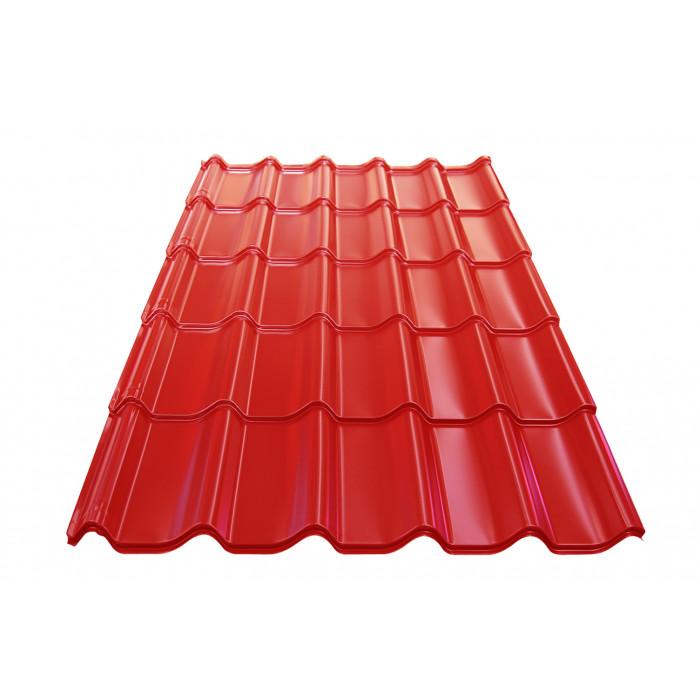 Метален покрив Optim 0.45mm / 1.25m керемиден цвят