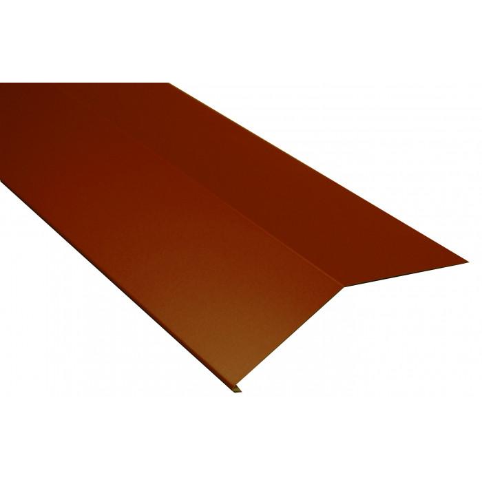 Подулучна пола 2m / оксидно червена