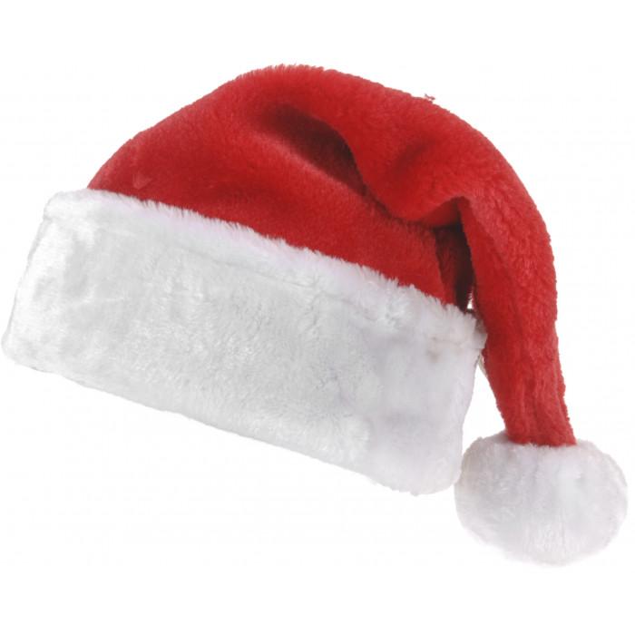 Коледна плюшена шапка
