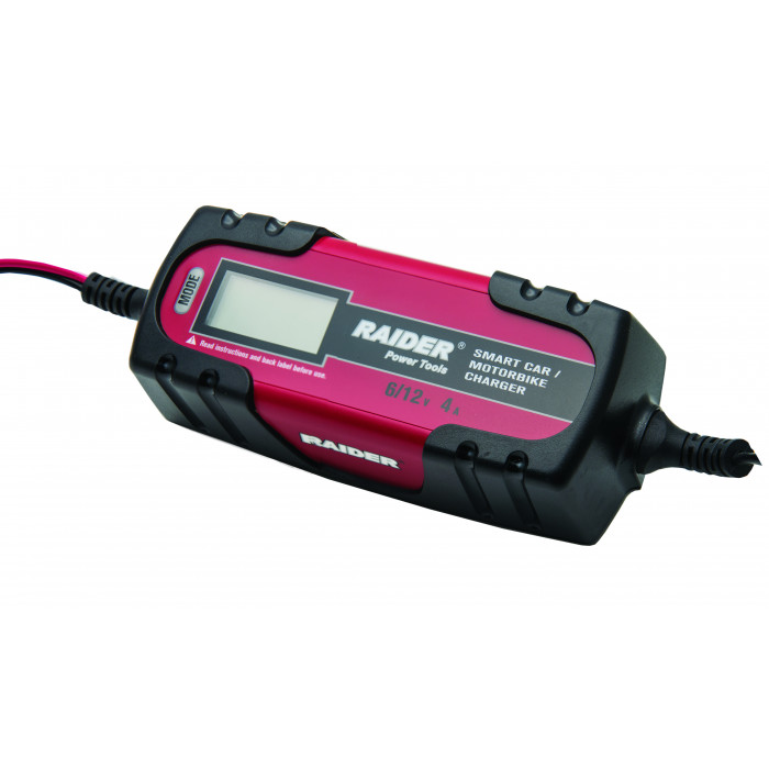 Инверторно зарядно за акумулатор Raider RD-BC13 6/12V 120Ah