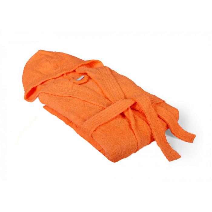 Халат за баня Класик М оранжев