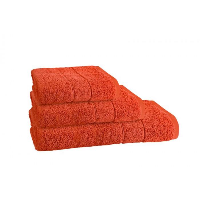 Хавлиена кърпа за баня Наполи 50/90 оранжева