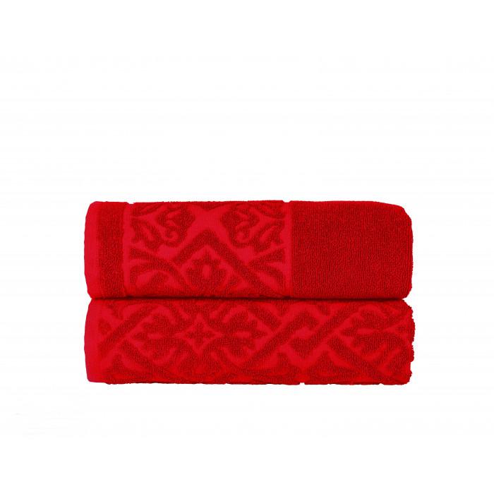Хавлиена кърпа за баня Порто 30/50 червена