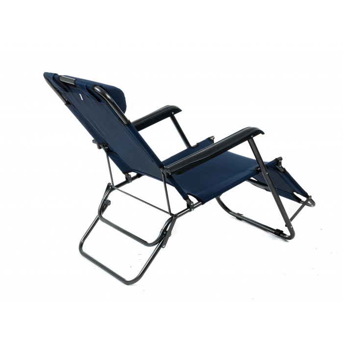 Функционален плажен стол TLH-3068R тъмносин