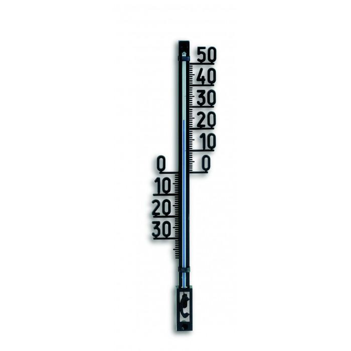 Термометър за външна и вътрешна температура TFA черен