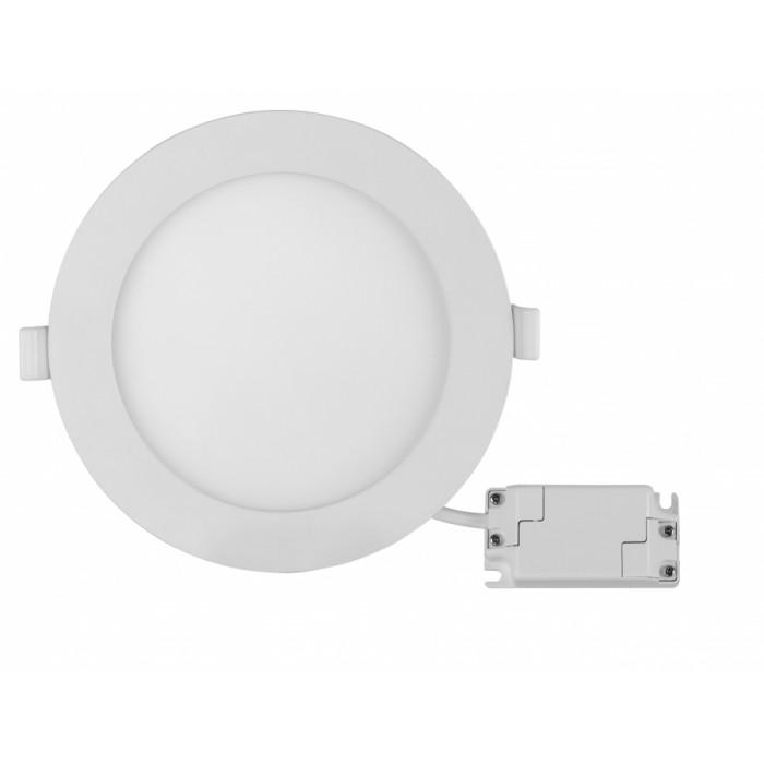 LED панел за вграждане кръг 18W неутрална светлина