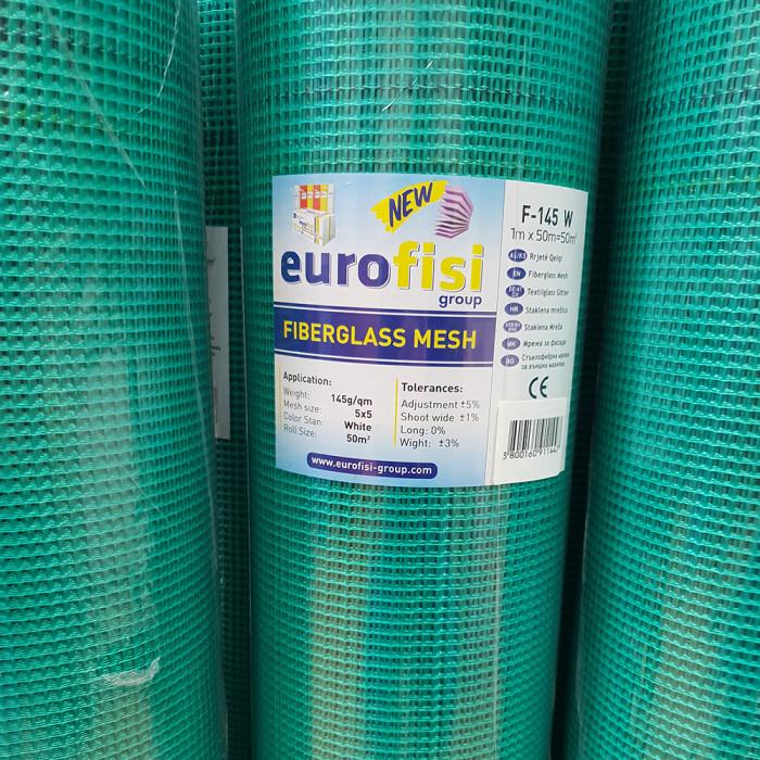 Стъклофибърна мрежа 145 гр/м2 зелена