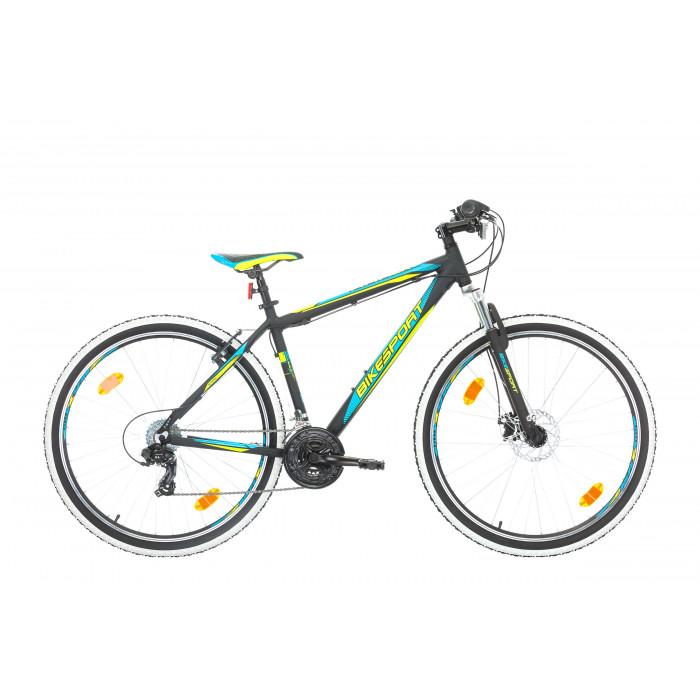 "Велосипед Bikesport Attack Alloy 27.5"" черен мат / рамка 48"