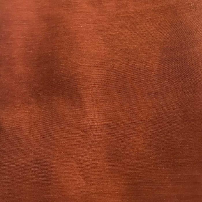 Полупрозрачно перде с перделък 145/250см - кафяво с памучна структура