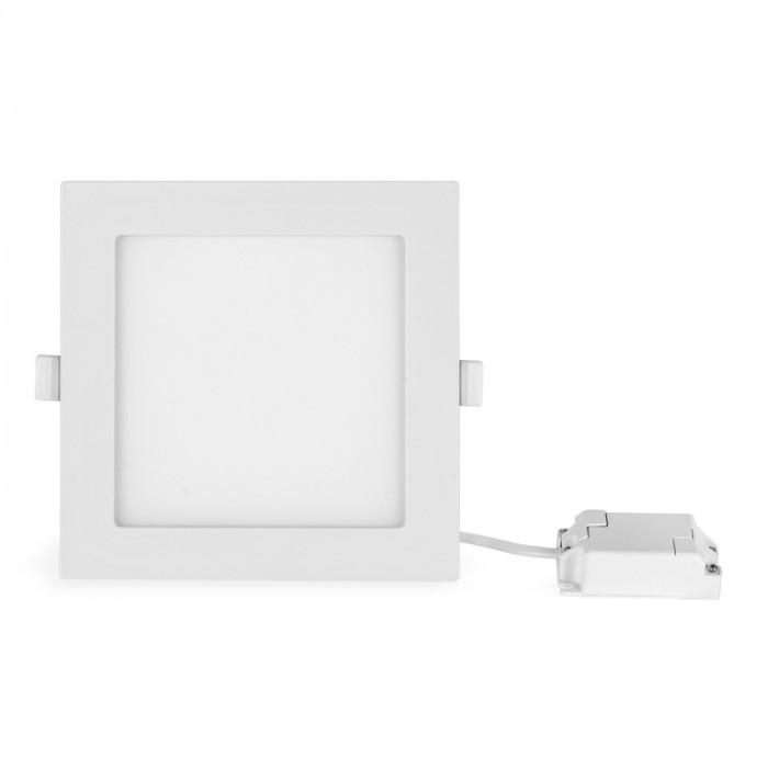 LED панел за вграждане 12W квадрат