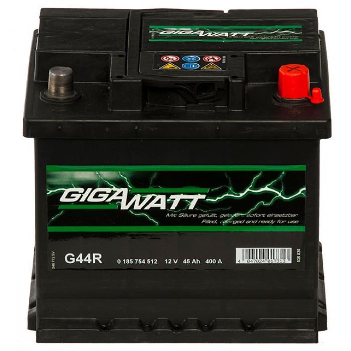 Стартерен акумулатор Gigawatt 45Ah / 12V