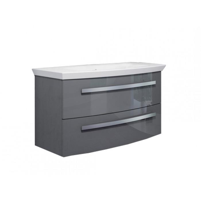 Долен шкаф за баня с умивалник Orka Urla / Lacquer / 90 см