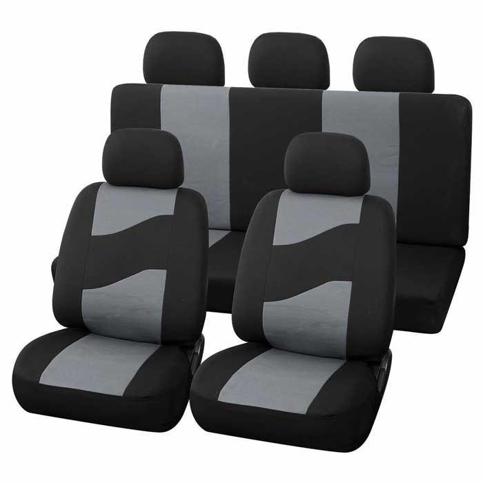 Комплект калъфи за автомобилни седалки Rider / 11 броя