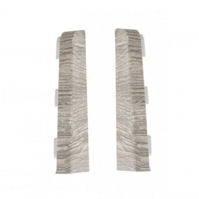 Тапи за перваз лява+дясна Salag SG75/F6 Кехлибарен дъб