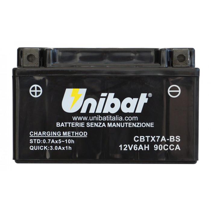 Мотоциклетен акумулатор Unibat CBTX7A-BS