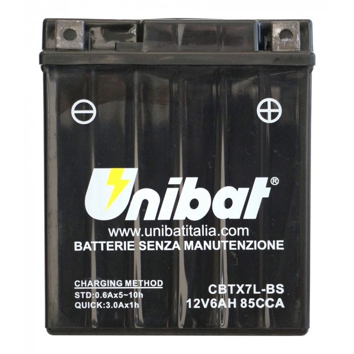 Мотоциклетен акумулатор Unibat CBTX7L-BS