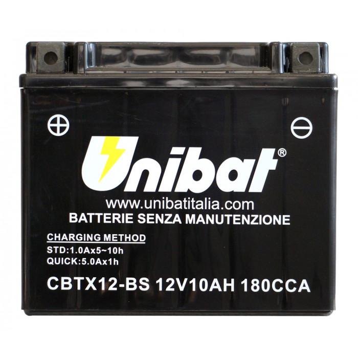 Мотоциклетен акумулатор Unibat CBTX12-BS