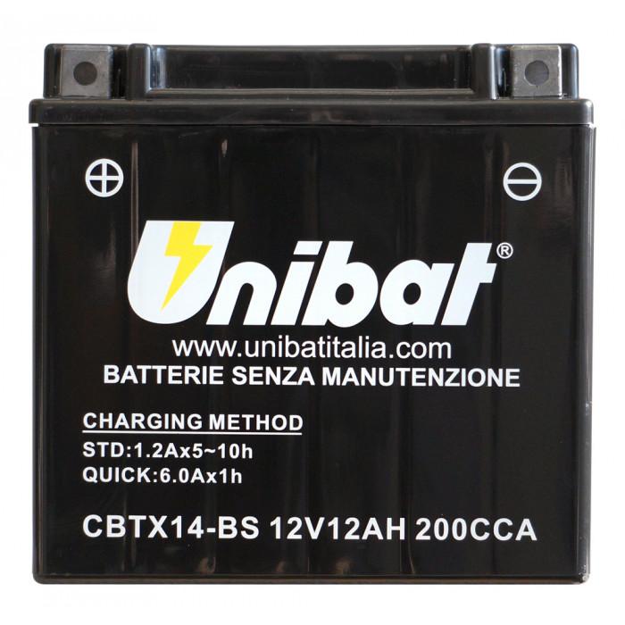 Мотоциклетен акумулатор Unibat CBTX14-BS