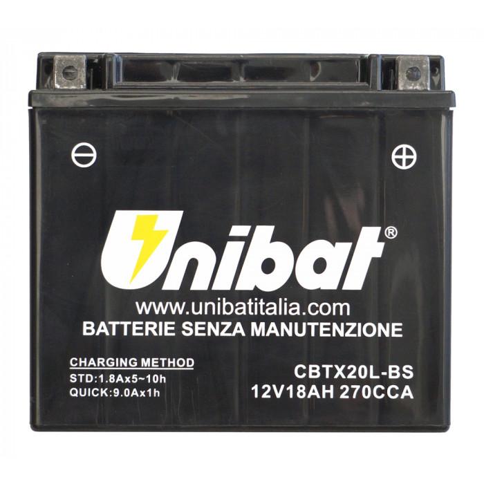 Мотоциклетен акумулатор Unibat CBTX20L-BS