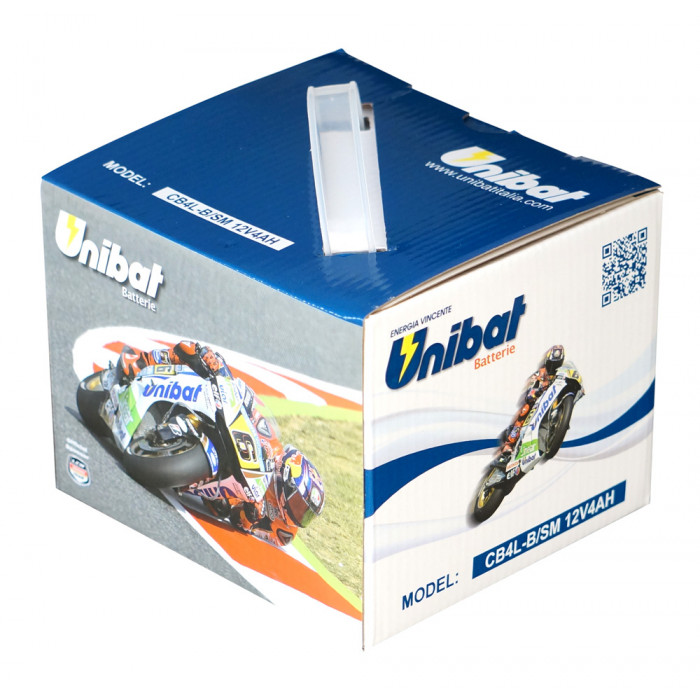 Мотоциклетен акумулатор Unibat CB4L-B