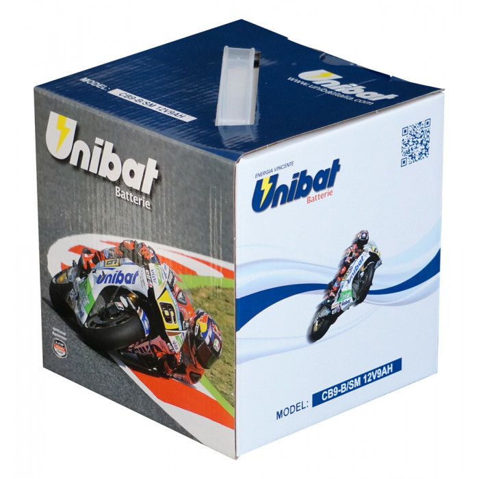 Мотоциклетен акумулатор Unibat СВ9-B