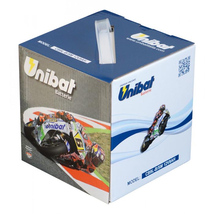 Мотоциклетен акумулатор Unibat CB9L-B