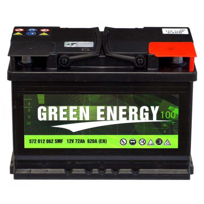 Стартерен акумулатор Green Energy 72Ah / 12V