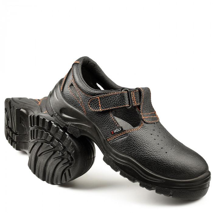Работни обувки тип сандал B-Wolf Capri S1P 520200 №44