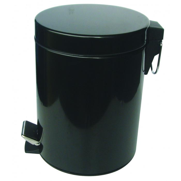 Тоалетно кошче Интер Керамик 8262В / черно / 5л
