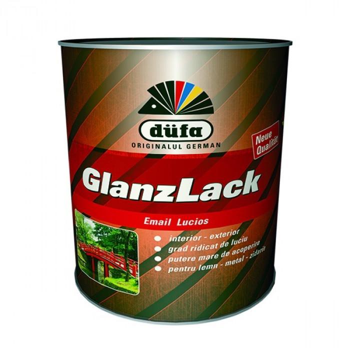 Алкиден емайл лак - гланц   - зелен 0,75 l