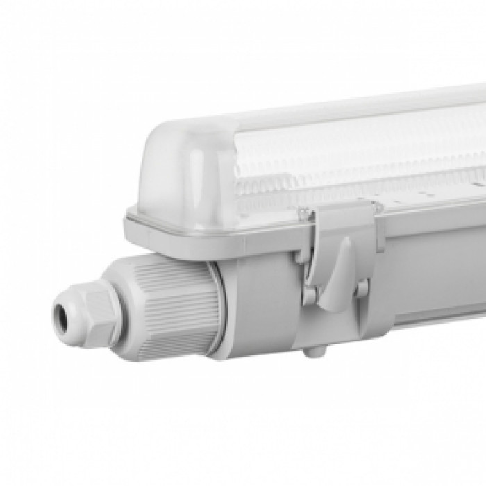 Водоустойчиво осветително тяло за LED тръби 18W