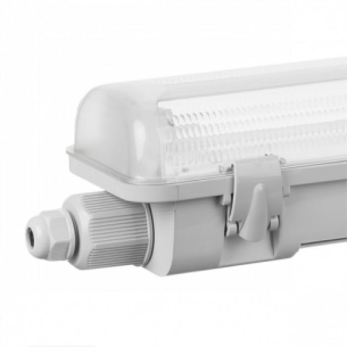 Водоустойчиво осветително тяло за LED тръби 2x18W