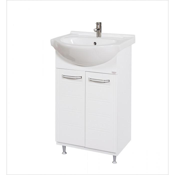 Долен шкаф за баня с мивка Макена Нео