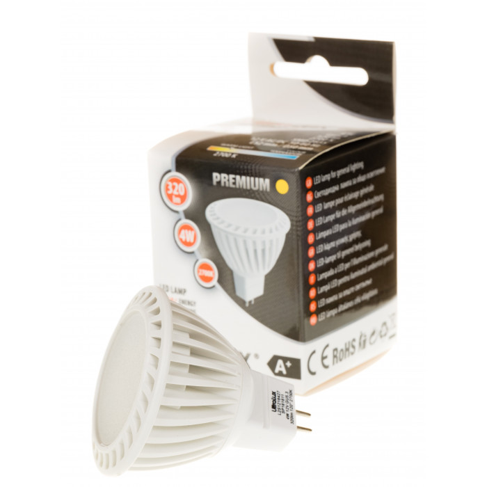 LED луничка топла светлина 4W MR16