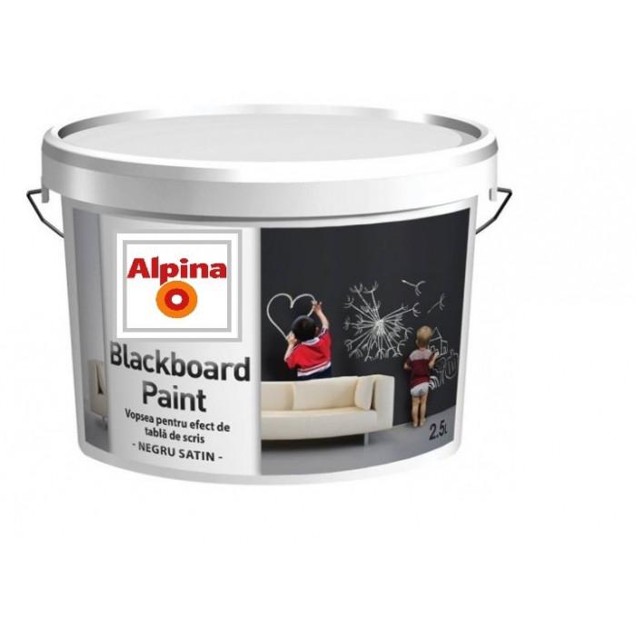 Боя за ученическа дъска Alpina Blackboard Paint 2,5л