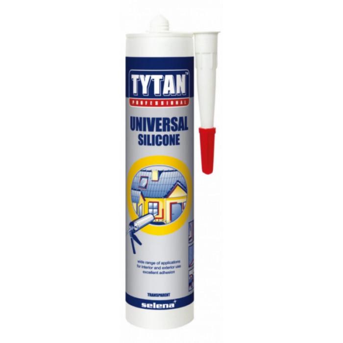 Универсален силикон tytan прозрачен 280мл