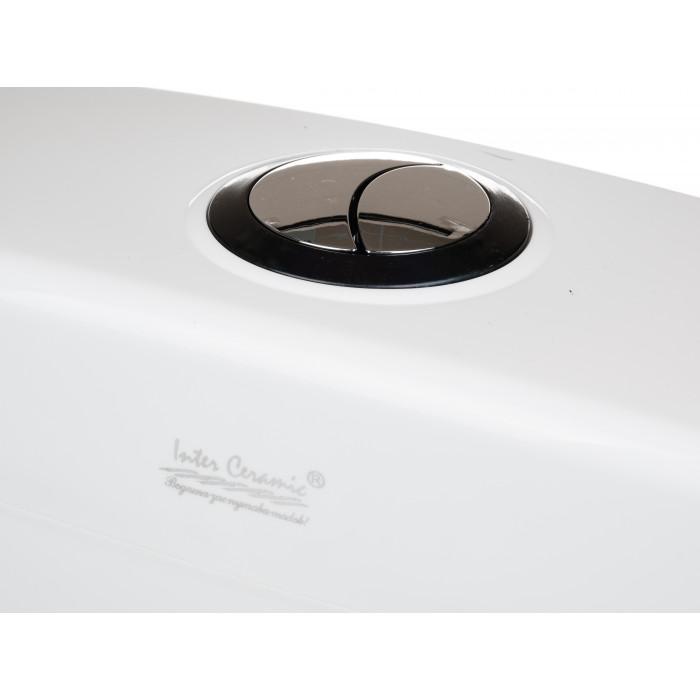 Тоалетно PVC казанче за нисък монтаж Интер Керамик 051 3/6л