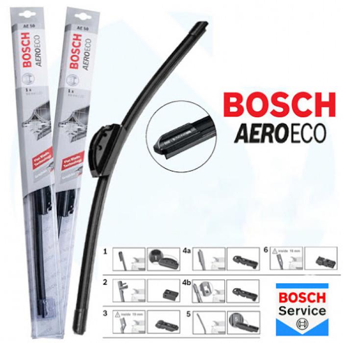 """Плоска чистачка Bosch """"Aero Eco"""" 530мм"""