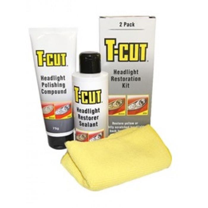 Комплект за възстановяване и полиране на фарове t-cut