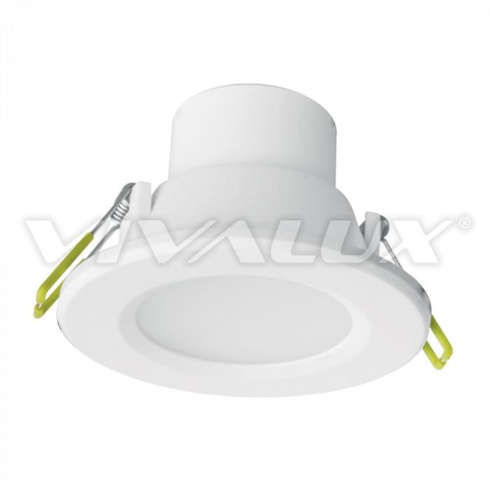 Влагозащитена LED луна за вграждане Top LED 6W IP44 CL/WH