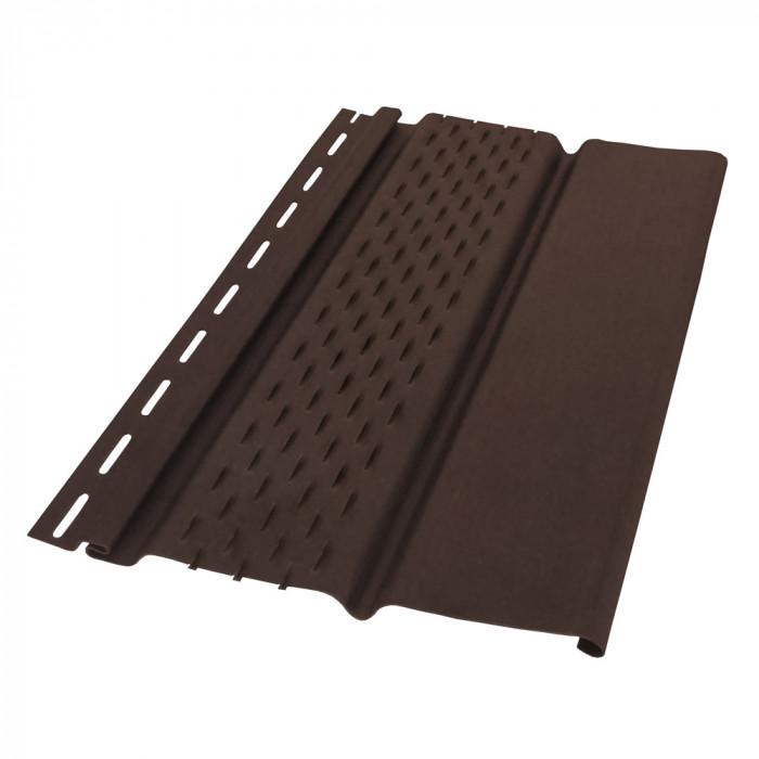 Обшивки за стрехи soffit панел 3м, перфориран, кафяв