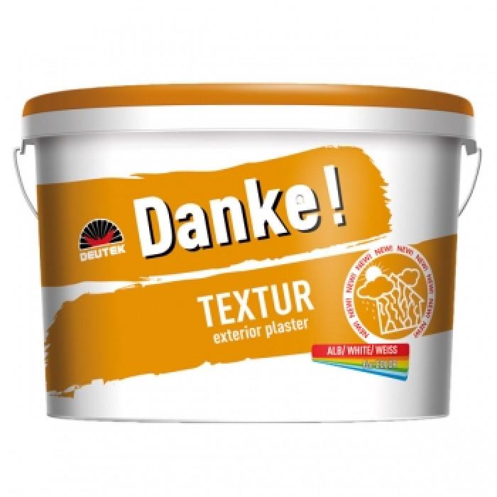 Влачена полимерна мазилка Danke Texture 1.5мм / 30кг