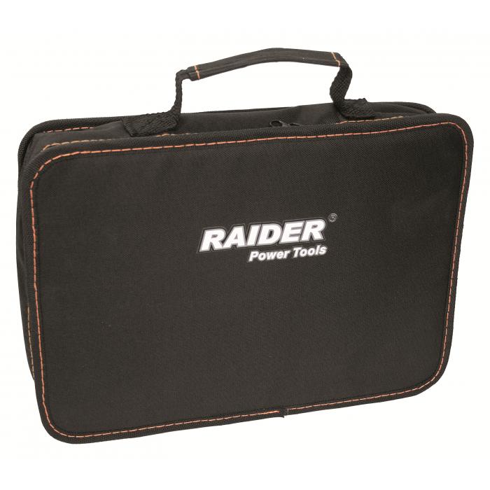 Комплект акумулаторна бормашина, шлифовалка, led лампа в чанта RAIDER RD