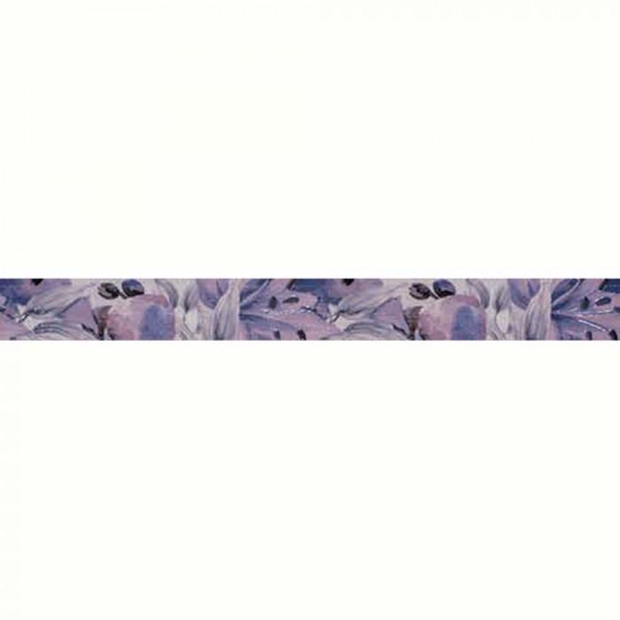 Плочки за стенна декорация / фриз IJ 50 x 500 Виола цветя лилави