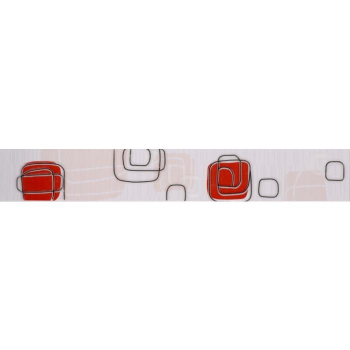 Плочки за стенна декорация / фриз 60 x 400 Линеа лукс червени